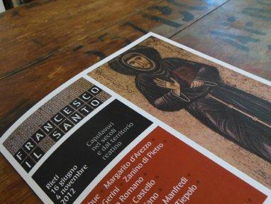 Guida breve alle opere in mostra, brochure informativa