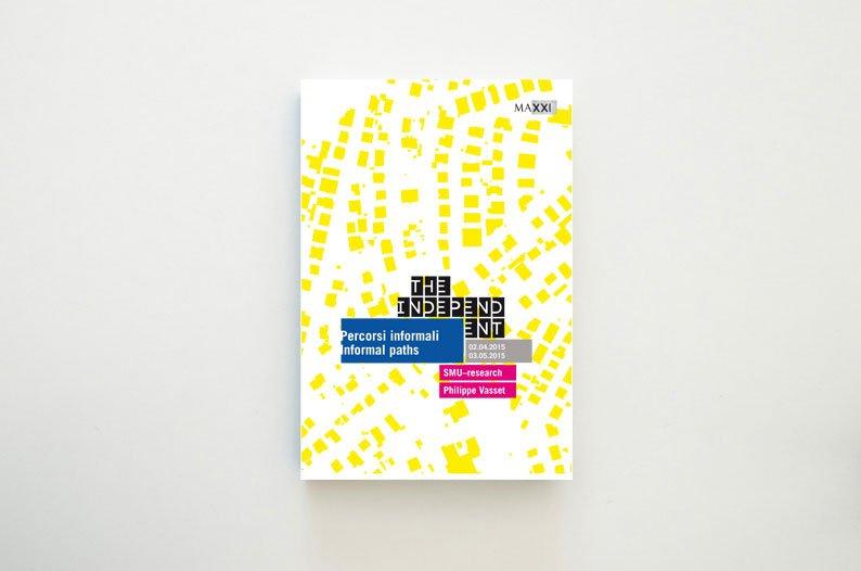 Brochure della mostra Percorsi informali/Informal path